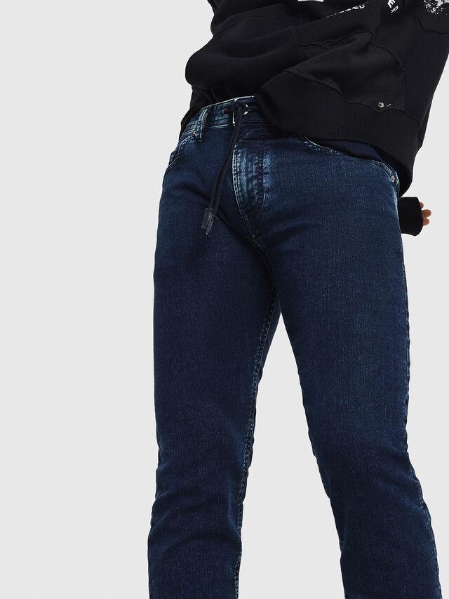 Diesel - Thommer JoggJeans 8880V, Dark Blue - Jeans - Image 4