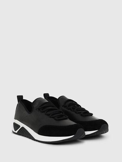 Diesel - S-KBY, Black Leather - Sneakers - Image 2