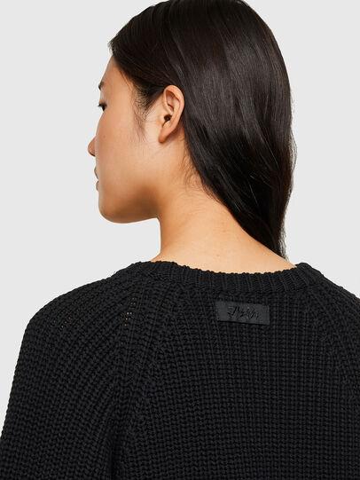 Diesel - M-SAPPHIRE, Black - Knitwear - Image 4