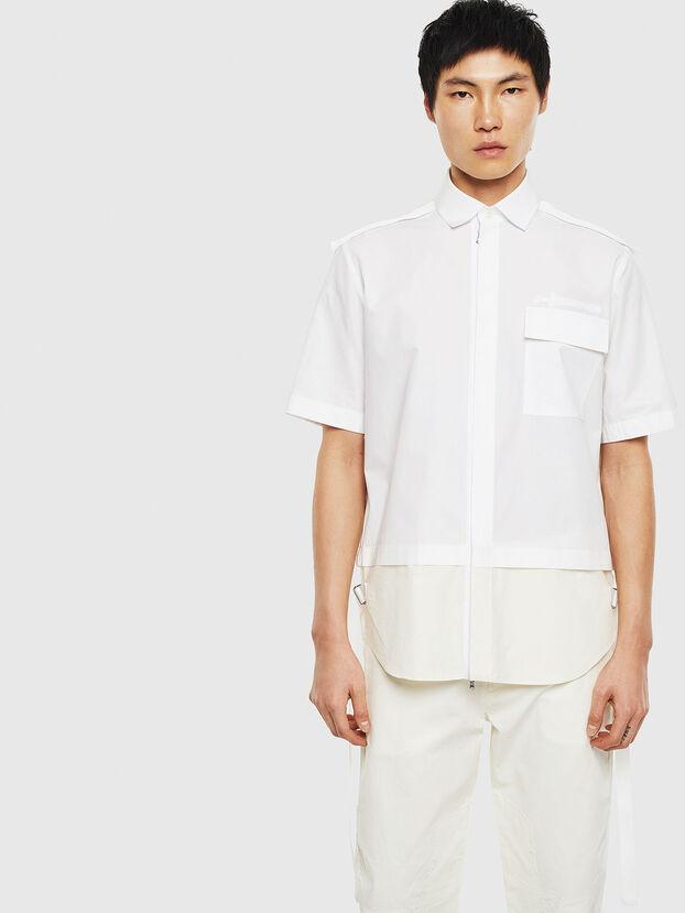 S-GIBBS, White - Shirts