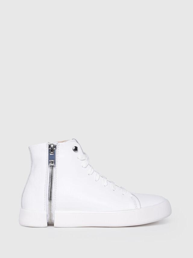 Diesel - S-NENTISH MC W, White - Sneakers - Image 1