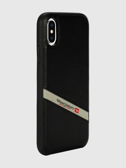 Diesel - DIESEL LEATHER CO-MOLD CASE FOR IPHONE XS & IPHONE X,  - Cases - Image 6