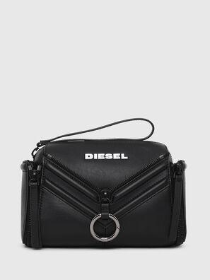 LE-ZIPPER CROSSBODY, Black - Crossbody Bags