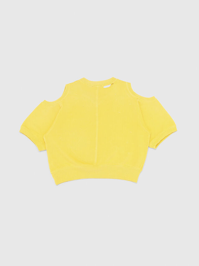 Diesel - SFADAM MC, Yellow - Sweaters - Image 2