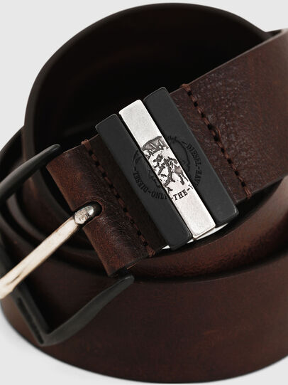 Diesel - B-HIDDEN, Dark Brown - Belts - Image 2
