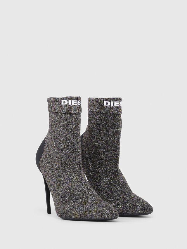 Diesel - D-SLANTY HASM, Multicolor/Black - Ankle Boots - Image 2