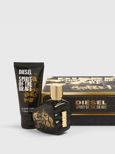 Diesel - SPIRIT OF THE BRAVE 35ML GIFT SET, Black/Gold - Only The Brave - Image 1