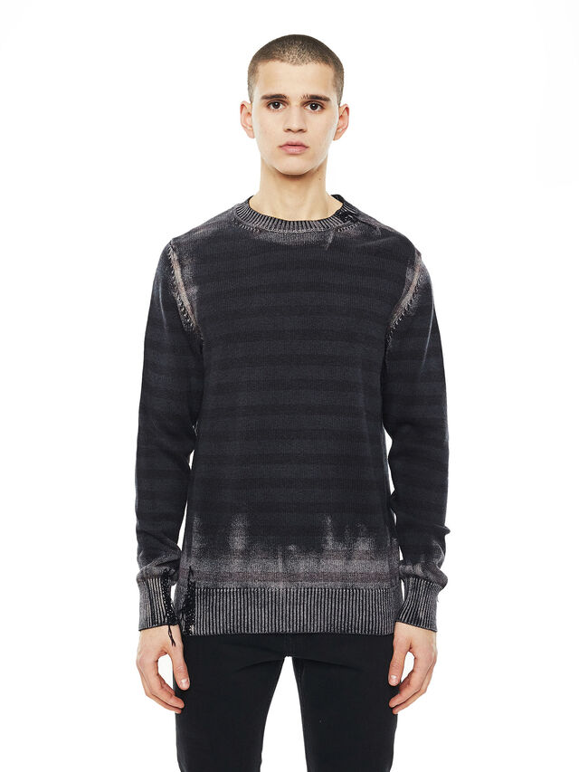 Diesel - KINTERKO, Black - Knitwear - Image 1