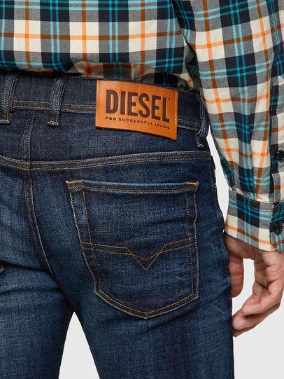 Diesel - Sleenker 09A43, Dark Blue - Jeans - Image 4