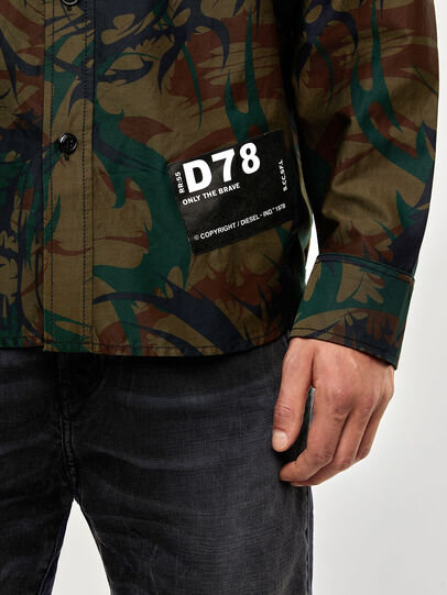 Diesel - S-JESSY-DES, Military Green - Shirts - Image 4