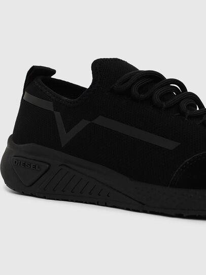 Diesel - S-KBY STRIPE W, Black - Sneakers - Image 4