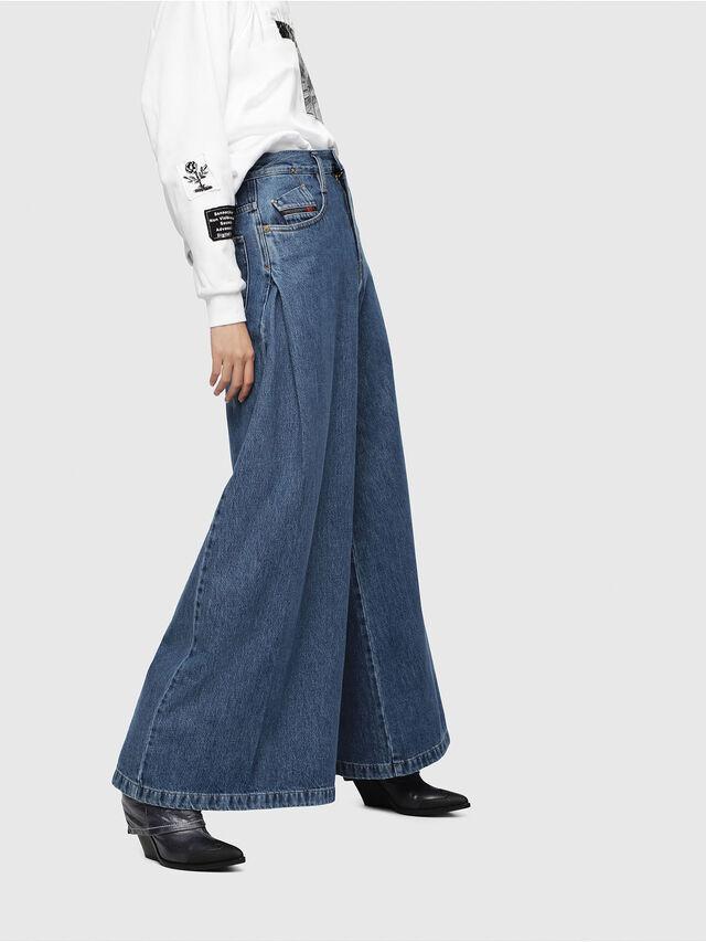 Diesel - D-Izzier 080AQ, Medium blue - Jeans - Image 3