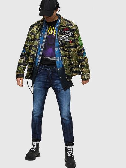 Diesel - Thommer JoggJeans 069IE, Dark Blue - Jeans - Image 5