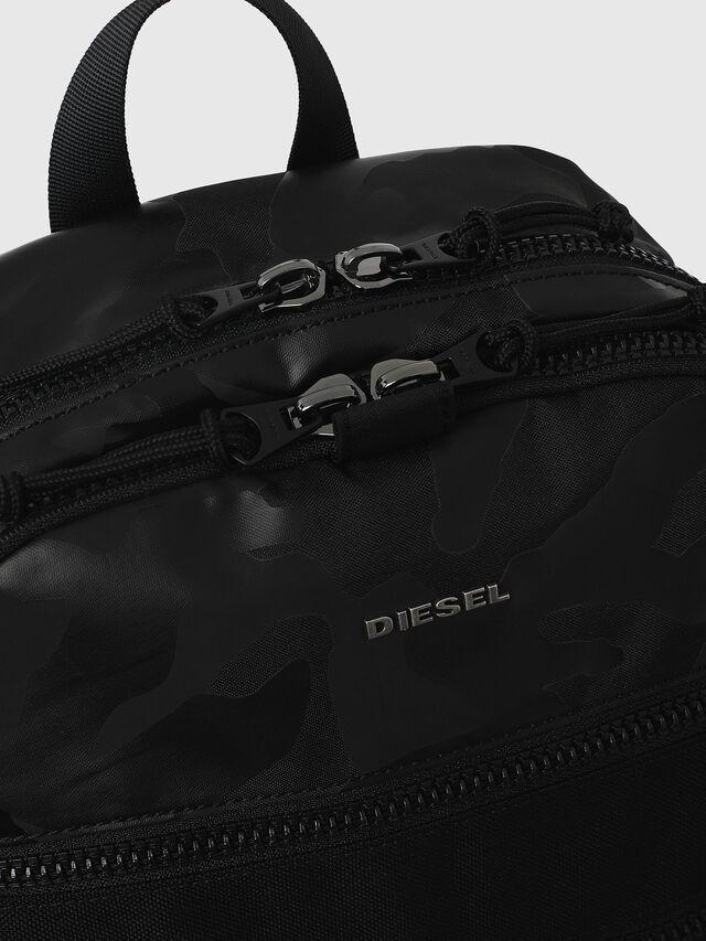 Diesel - F- URBHANITY BACK, Blue/Black - Backpacks - Image 4