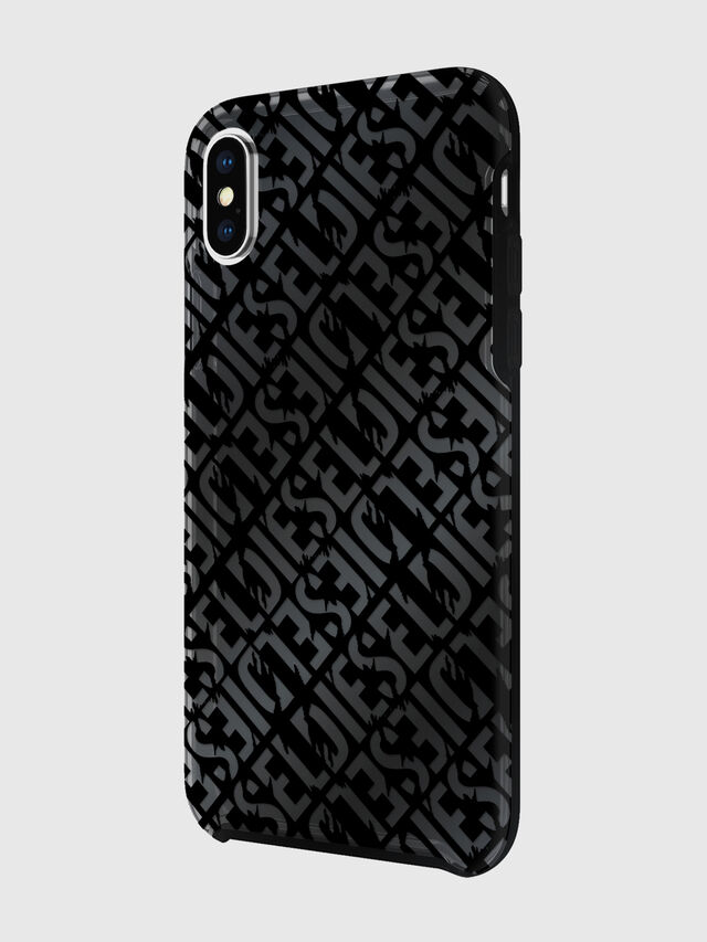 Diesel - DIESEL PRINTED CO-MOLD CASE FOR IPHONE XS & IPHONE X, Black - Cases - Image 5