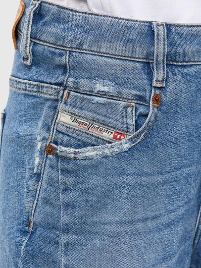 Diesel - Fayza 009EU, Light Blue - Jeans - Image 4