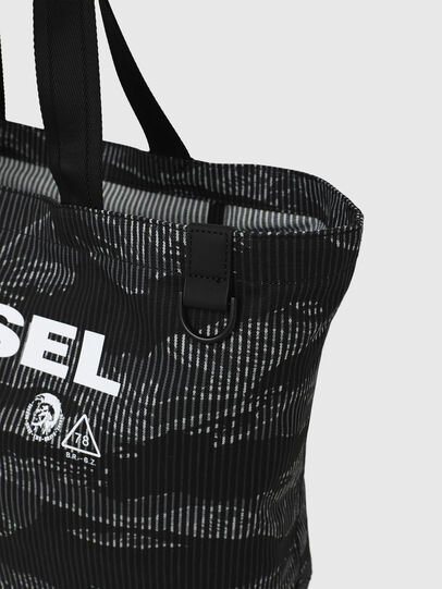 Diesel - D-THISBAG SHOP M, Black - Shopping and Shoulder Bags - Image 5