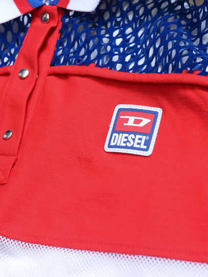 Diesel - TVAITEA, Red/White - T-shirts and Tops - Image 3