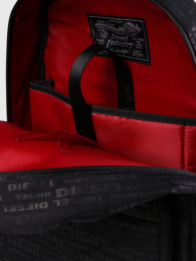 Diesel F-DISCOVER BACK, Black/Red - Backpacks - Image 6