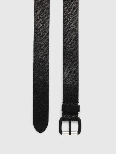 Diesel - B-STRIP, Black - Belts - Image 3