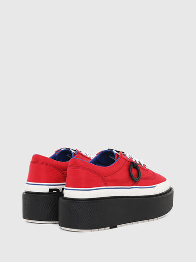 Diesel - H-SCIROCCO LOW, Fire Red - Sneakers - Image 3