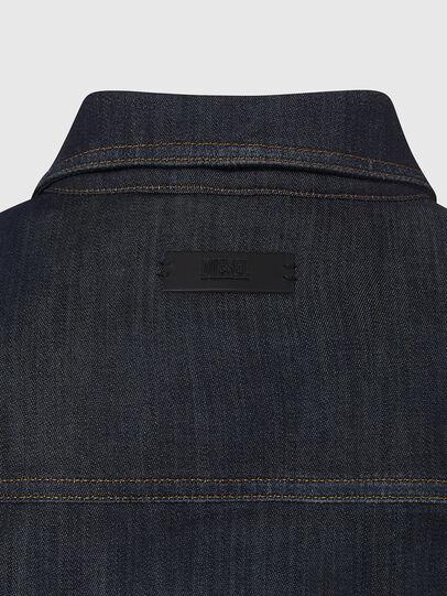 Diesel - NHILL-TW, Dark Blue - Denim Jackets - Image 4
