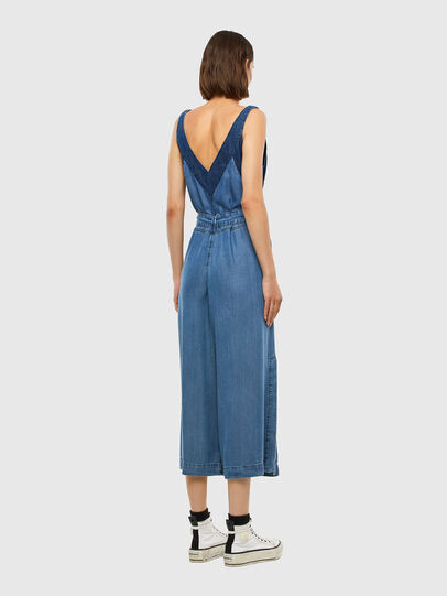 Diesel - DE-LORYNA, Medium blue - Jumpsuits - Image 7