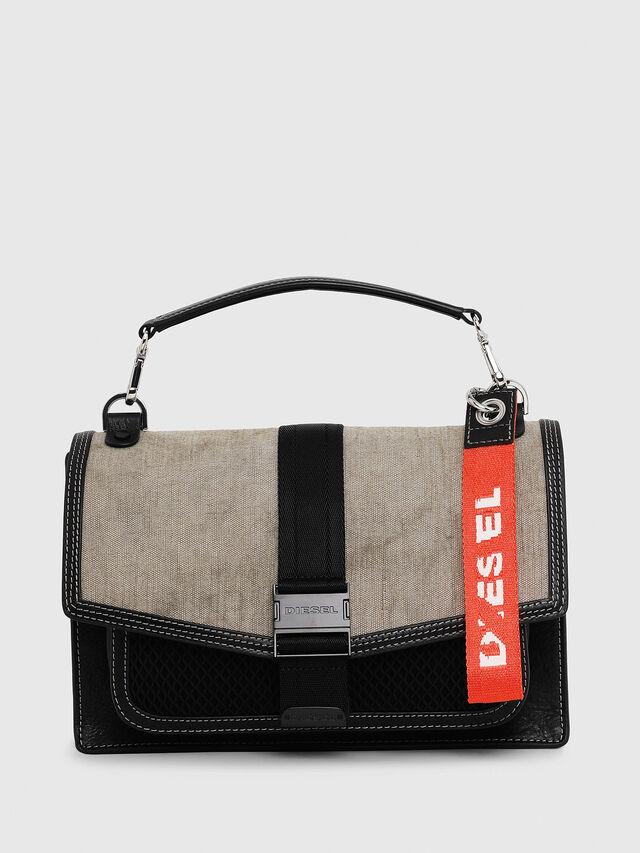 Diesel - MISS-MATCH CROSSBODY, Black/Grey - Crossbody Bags - Image 1