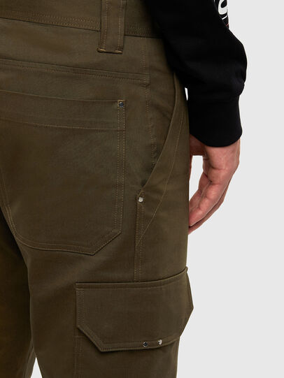 Diesel - P-BAKER-SLIM, Military Green - Pants - Image 4