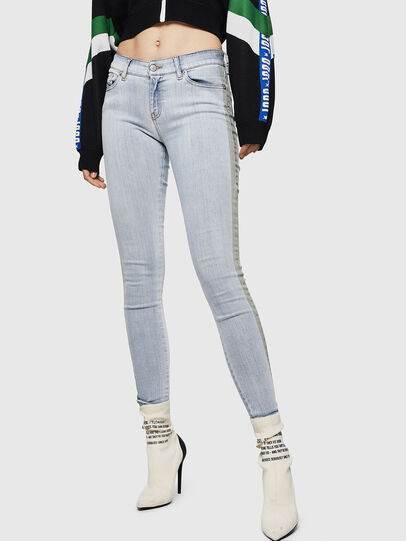 Diesel - Slandy 0090E, Light Blue - Jeans - Image 1