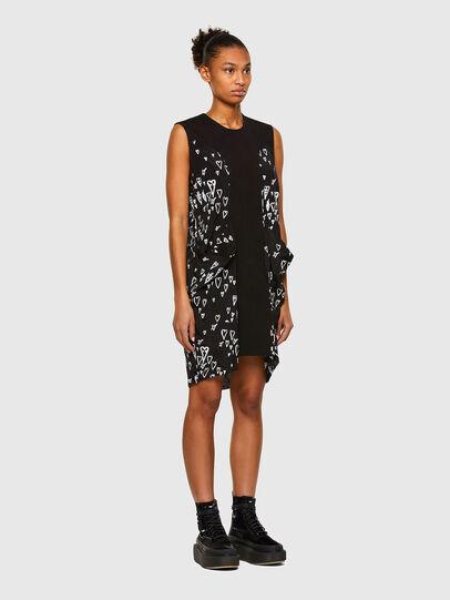 Diesel - D-EVEN, Black - Dresses - Image 6