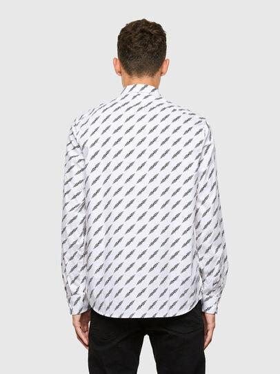 Diesel - S-RILEY-FLA, White - Shirts - Image 2