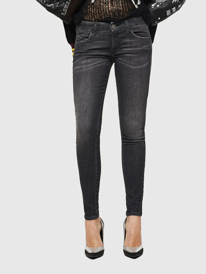 Diesel - Slandy Low 083AI, Black/Dark grey - Jeans - Image 1