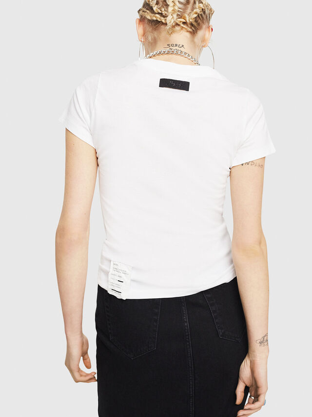 Diesel - T-SUPERY-C, White - T-Shirts - Image 2