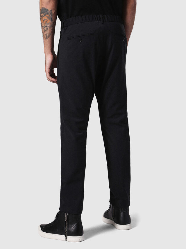 Diesel P-OLIVERY, Black - Pants - Image 2