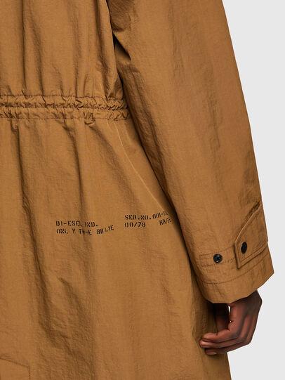 Diesel - J-LUI, Light Brown - Jackets - Image 5