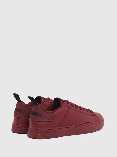 Diesel - S-CLEVER LOW LACE, Bordeaux - Sneakers - Image 3