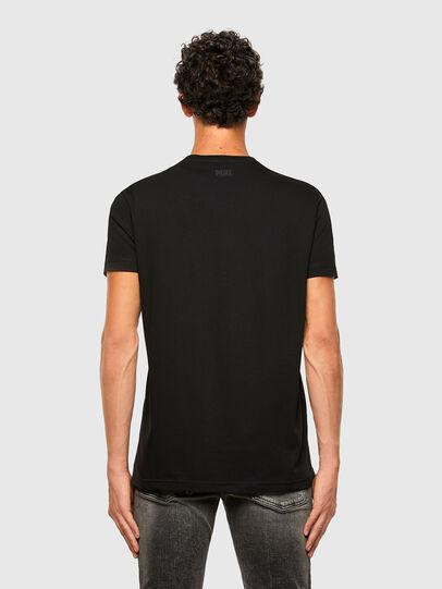 Diesel - T-DIEGOS-N29, Black - T-Shirts - Image 2