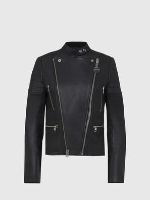 L-MARS, Black - Leather jackets