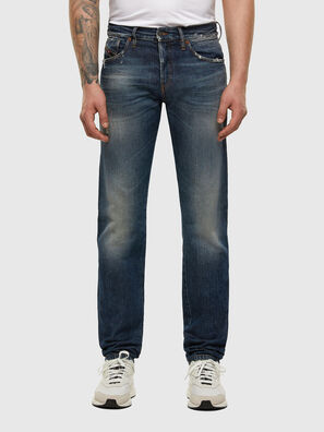 D-Kras 009EW, Dark Blue - Jeans