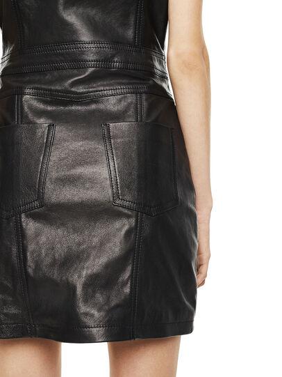 Diesel - DAFFIE,  - Leather dresses - Image 3