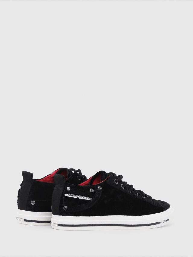 Diesel - EXPOSURE IV LOW  W, Black - Sneakers - Image 3