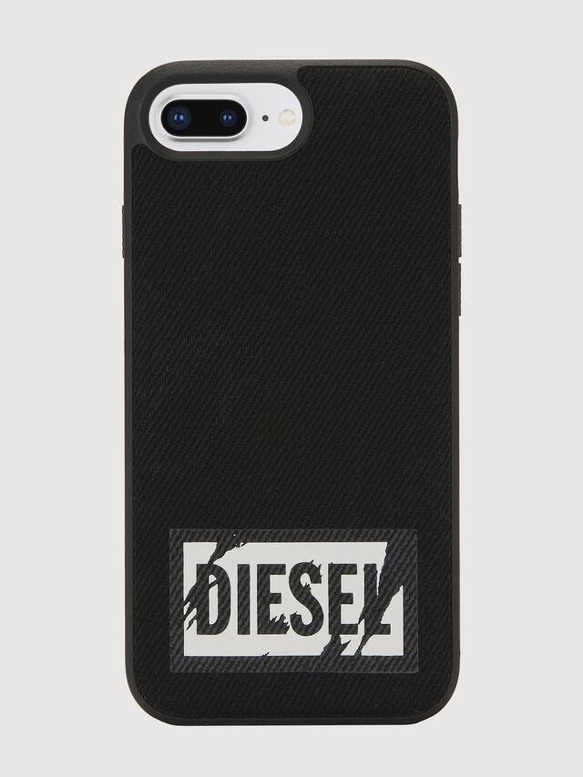 Diesel - BLACK DENIM IPHONE 8 PLUS/7 PLUS/6S PLUS/6 PLUS CASE, Black - Cases - Image 2