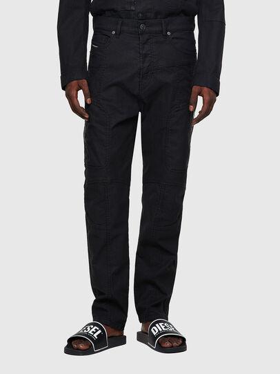 Diesel - D-VIDER JoggJeans® 0DDAX, Black/Dark grey - Jeans - Image 1