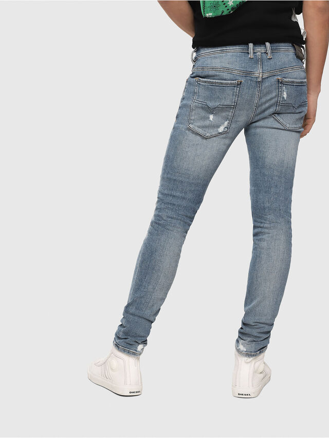 Diesel - Sleenker 086AT, Light Blue - Jeans - Image 2