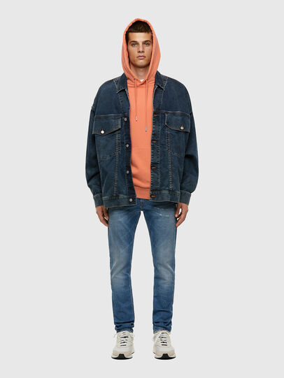 Diesel - Thommer 009ES, Light Blue - Jeans - Image 4