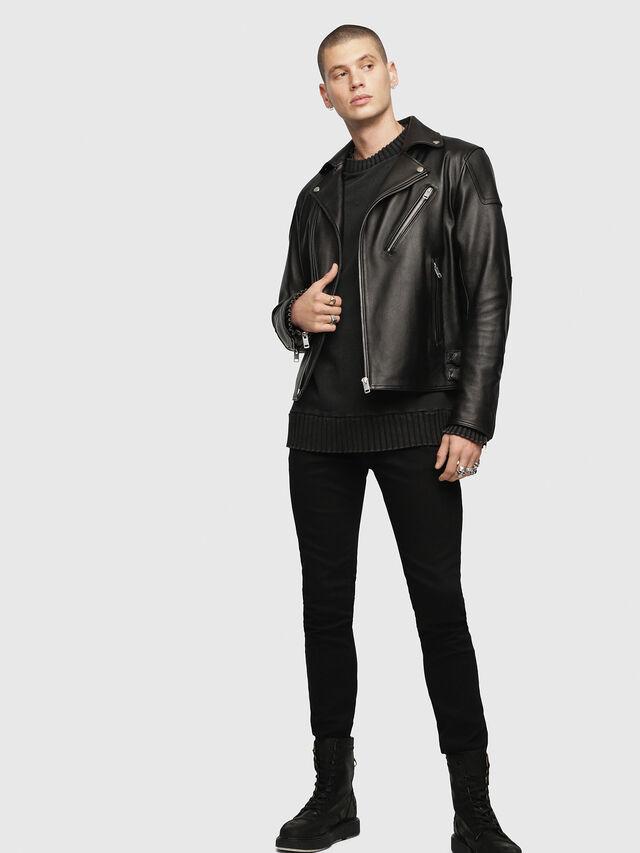 Diesel Sleenker 0886Z, Black/Dark grey - Jeans - Image 4