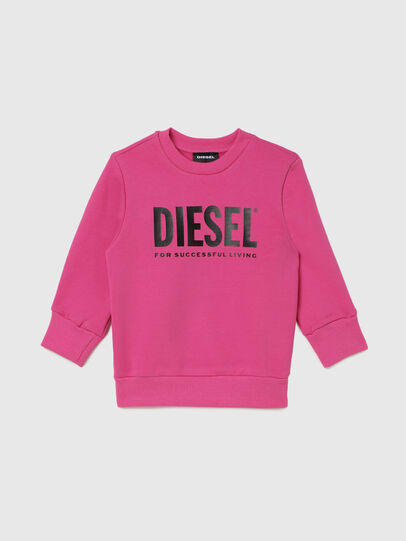 Diesel - SCREWDIVISION-LOGOB-, Pink - Sweaters - Image 1