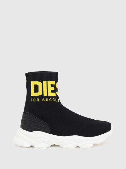 Diesel - S-SERENDIPITY SO MID, Black/Yellow - Footwear - Image 1