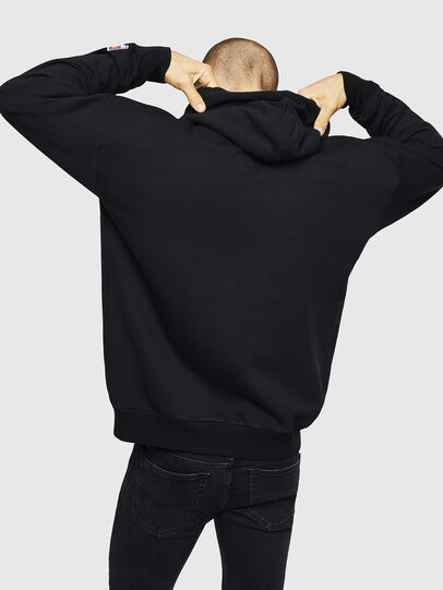 Diesel - S-DIVISION-D, Black - Sweaters - Image 2